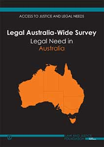 Legal Australia-Wide Survey